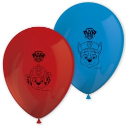 Balóny Tlapková Patrola - PAW Patrol, 25cm, 8ks