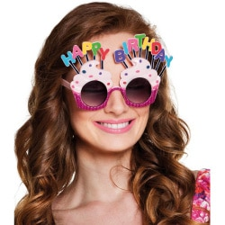 Okuliare Happy Birthday
