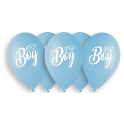 Balóny Its a Boy, 33cm, 5ks